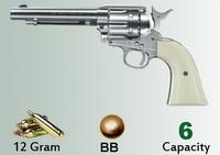 Пневматический пистолет Umarex COLT SINGLE ACTION ARMY 45 nickel