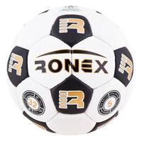 Мяч футбольный Grippy Ronex Black/White