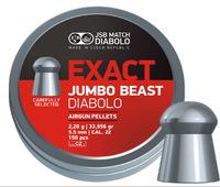 Пули JSB Exact Jumbo Beast 5,52мм 2,20(150)