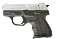 Пистолет стартовый Stalker 906M серый титан/хром