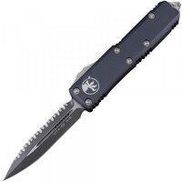 Нож Microtech UTX-85 Double Edge Black Blade FS 232-3