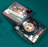 Дартс, покер, игры, Игра Рулетка 5 в 1