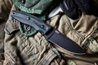 Kizlyar Supreme KE URB8B Нож туристический Urban Черный AUS-8