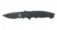 Нож Fox FKMD Dominus G10, полусеррейтор, спирпоинт
