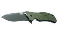 Нож KAI Aluminum Handle Green