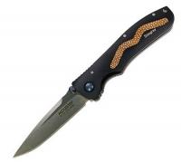 Нож MCUSTA Brown Stingray (черный алюминий, коричневая кожа ската)