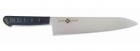Нож MCUSTA ZANMAI PRA Molybdenum Gyuto (210мм, черный пластик)