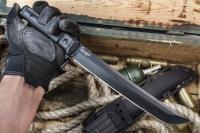 Kizlyar Supreme KE SEN8B Нож туристический Sensei Черный AUS-8, рукоять G-10