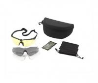 Очки REVISION StingerHawk Dlx стандарт оправа - черная, три светофильтра HC