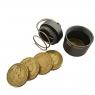 True Utility, Брелок CoinStash емкость для монет (L40xW25xD25mm)