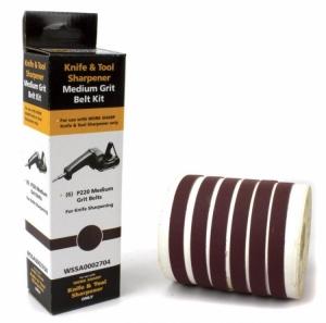 Work Sharp, Запасные ленты WSKTS P220 Ceramic Oxide (6 лент) к точилке Darex Work Sharp