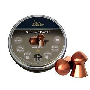 Пули H&N, H&N Baracuda Power 0,69г 300шт 4,5мм