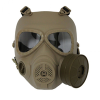 Маска Toxic Style Fan Airsoft DE