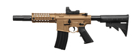 Пневматическая винтовка Crosman Bushmaster MPW Full Auto с коллиматорным прицелом