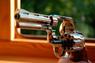 Alfa, Револьвер флобера Alfa 441 никель, дерево