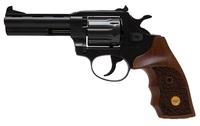 Револьвер флобера Alfa 441 вороненные, дерево