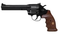 Револьвер флобера Alfa 461 вороненый, дерево