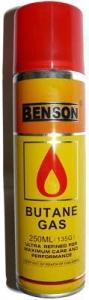 Газ, Бензин, Газ Benson 250мл