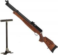 Hatsan, Пневматическая винтовка HATSAN BT65-RB-W  дерево с насосом