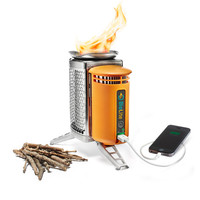 Горелка-зарядка на дровах с фонариком-подсветкой BIOLITE Campstove 2 with Flexlight