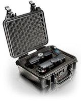 Удобный кейс для защиты фотоаппарата, портативной видеокамеры формата miniDV или HD и другого оборудования Peli 1200