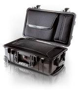 Бизнес-кейс со съемной сумкой для ноутбука, колесами и выдвижной ручкой Peli 1510LOC