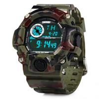 Часы Skmei 1019 Green Camouflage BOX