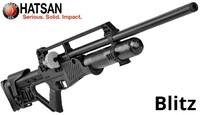 Пневматическая винтовка Hatsan Blitz+насос Artemis