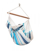 Подвесной стул-гамак La Siesta Caribena aqua blue