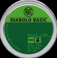 Пули RWS Diabolo Basic 0.45g (500) к.4,5