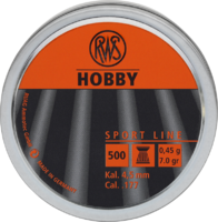 Пули RWS Hobby 0.45g (500) к.4,5