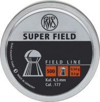 Пули RWS Superfield 0.54g (500) к.4,52