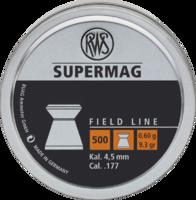 Пули RWS Supermag 0.60g (500) к.4,5