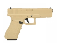 Пистолет Cyma Glock 18C AEP Tan