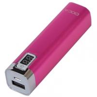 Внешнее зарядное устройство Power Bank DOCA D516 (2600mAh), розовый