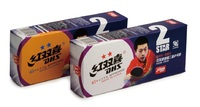 Шарики для настольного тенниса DHS CELL-FREE 2 stars
