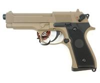 Пистолет Cyma Beretta M92F/M9 CM.126 AEP Tan