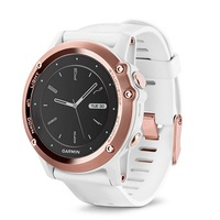 Garmin Fenix 3 Sapphire, Rose Gold tone with White Band
