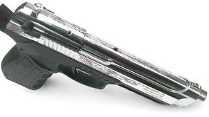 Stalker, Пистолет стартовый Stalker 918 серый титан/хром