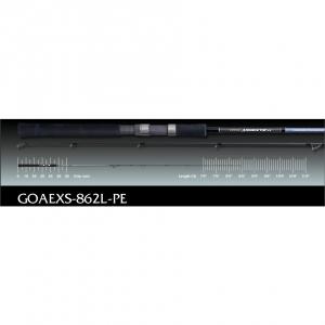 Graphiteleader, Спиннинг Graphiteleader ARGENTO EX SPINNING MODEL GOAEXS-862L-PE 2,59m 148gr 5-21gr