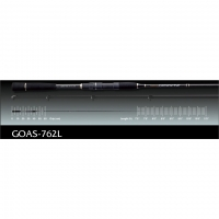 Спиннинг Graphiteleader ARGENTO GOAS-762L 2.29m. 119gr. 5-21 gr