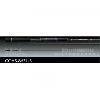 Graphiteleader, Спиннинг Graphiteleader ARGENTO GOAS-862L-S 2,59m 127gr 7-28gr