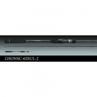 Спининг Graphiteleader SPADA GSONSC-62SUL-2 1.88m 28-84gr