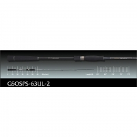 Спининг Graphiteleader Spada GSOSPS-63UL-2 1,9m 108gr 28-84gr