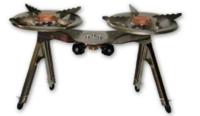 Горелка газовая GZWM AGNES 2-burner camping cooker