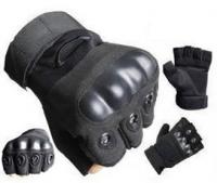 Тактические перчатки Oakley (беспалые). Black.