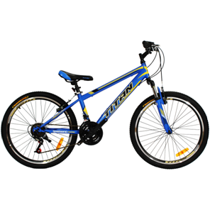 """Велосипеды Titan, Велосипед Titan Smart Vbr 24"""" St сине-желтый"""
