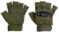 Тактические перчатки Oakley (беспалые). Olive.