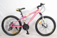 """Велосипед Titan XC2416 Vbr 24"""" St бело-розовый"""