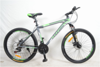 "Велосипед Titan XC2616 Vbr 26"" St серо-салатовый рама 19"
